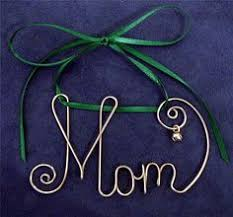 personalized brass wire name ornament w jingle bell any