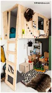 best 25 pallet loft bed ideas on pinterest college must haves