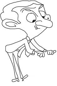 mr bean free cartoon coloring pages cartoon coloring pages of