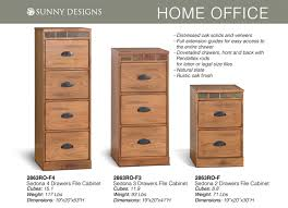 Wood 3 Drawer File Cabinet by Prices U2022 Sunny Designs Sedona Office Furniture U2022 Al U0027s Woodcraft