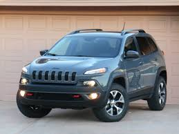 black and teal jeep test drive 2015 jeep cherokee trailhawk the daily drive