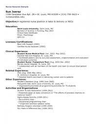 Sample Resume Lpn Objectives by Licensed Practical Nurse Resume Samples Splixioo