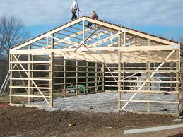 reputable pole barn prices with missouri wooden lean to building