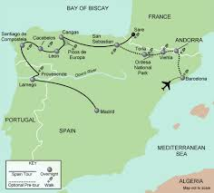 Spain Map N Spain Map 2015 Web Walking Adventures