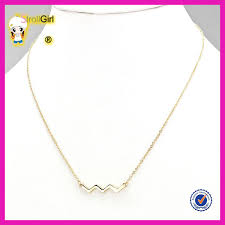 girl gold chain necklace images Hot sale light weight gold chain necklace design for young girl jpg