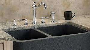 Non Scratch Kitchen Sinks by Kitchen Sink Materials Pros And Cons
