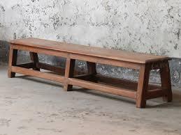 vintage bench for the home scaramanga