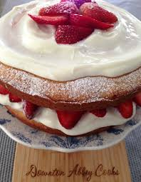 tea tuesday traditional courting cake downton abbey cooks