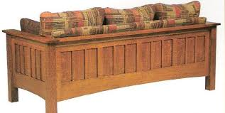amish mount hope mission sofa