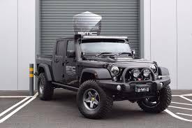 jeep wrangler pickup black used 2018 jeep wrangler 3 6 black mountain rubicon double cab pick