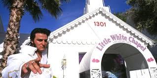 las vegas mariage une white chapel éphémère à où elvis va vous marier pour de