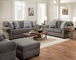 Sofas And Loveseats The Tokyo Pebble Sofa And Loveseat Is A Gray Textured Sofa And