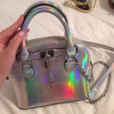 holographic bags aldo handbags holographic bag poshmark