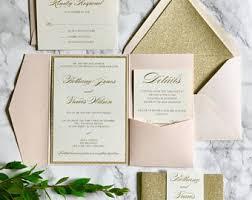 invitation paper wedding invitations etsy
