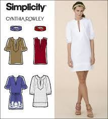 blouse sewing patterns simplicity cynthia rowley tunic pattern tunic sewing patterns