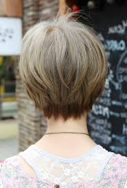 front and back pictures of short hairstyles for gray hair short haircuts front and back view hairstyles ideas