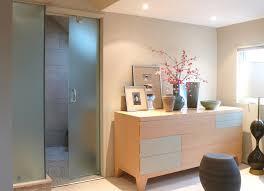 shower door ideas bathroom tropical with open shower outdoor
