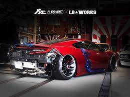 custom honda nsx listen to 2nd gen acura nsx sound off with custom exhaust
