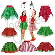 christmas skirt skirt christmas mrs santa claus costume skirt fancy