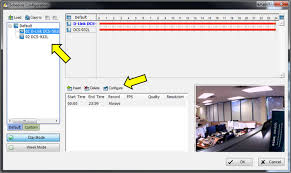 ultimate audio video setup how do you setup scheduled recording in d viewcam d link