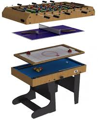 4 In 1 Game Table Best Folding Multi Games Table Multi Game Table Spin Around Pool