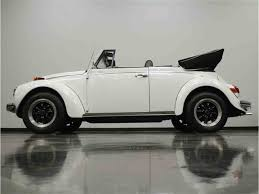 white volkswagen convertible 1971 volkswagen super beetle convertible for sale classiccars