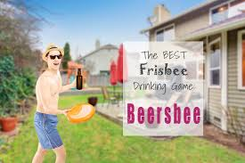 Backyard Drinking Games Beersbee How To Play The Best Frisbee Drinking Game