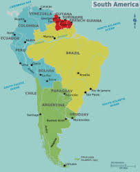 map of america with cities capital capitals south america material world