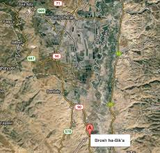 Israel Google Brosh Ha Bik U0027a Israel Google Maps Google Chrome 10112013