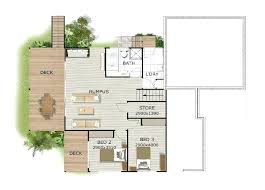 front sloping lot house plans steep lot house plans plan three plan for a sloping lot front