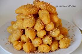 cuisine de assia les doigts de zineb petit gâteau au miel et sésame la