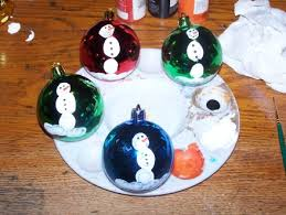 easy kid friendly snowmen ornaments the thrifty