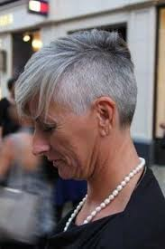 Can Older Women Wear An Undercut | grey undercut that will be me always keep my shaved style even as i