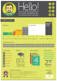 Best Resume Visual Presentation by Infographic Resume Visual Ly