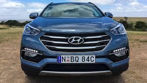 hyundai santa fe hyundai santa fe 30 special edition v6 2017 review carsguide