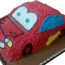 red car cake take the cake