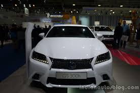 lexus hybrid gs300h 2013 frankfurt motor show entry level lexus gs 300h arrives