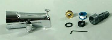 bathtub faucet adapter shower and tub faucet add a shower tub spout adapters tape and tool