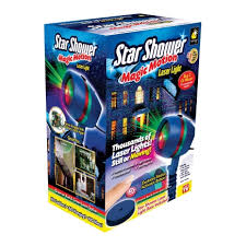 Telebrands Star Shower Magic Motion Laser Spike Light Projector