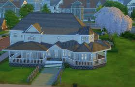 mod the sims 3 bed 3 bath queen anne style house