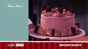 chocolate mousse cake decoration basics dessert decorating ideas