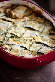 healthy zucchini lasagna recipe no pasta