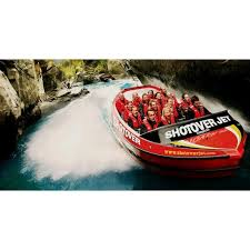 wedding gifts queenstown jet boat tour on shotover river queenstown in new zealand