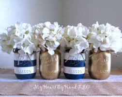 pink and gold mason jar centerpieces baby shower mason jars