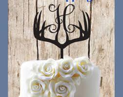 buck and doe cake topper deer wedding cake topper buck and doe cake topper rustic