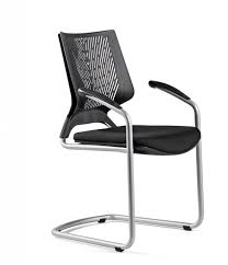 Modern Office Chair Without Wheels Tnkid A Confident Chair With Dynamic Aesthetics