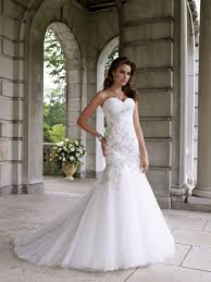 fabulous lace and bling wedding dress for mermaid wedding dresses