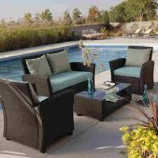 Resin Patio Furniture by Resin Patio Furniture Clearance Cayman Weatherproof Resin Wicker