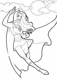 18 dessins de coloriage Super Héros Fille à imprimer