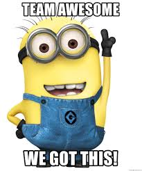 We Got This Meme - team awesome we got this despicable me minion meme generator